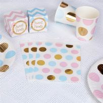 Pattern Works Pink & Blue Dot Sweet Bags (25)
